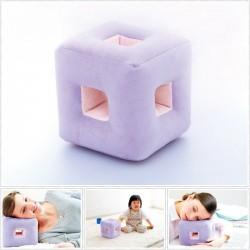 六孔方型吉祥枕