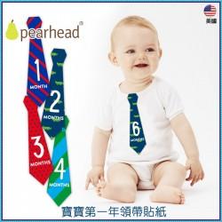 寶寶第一年領帶貼紙