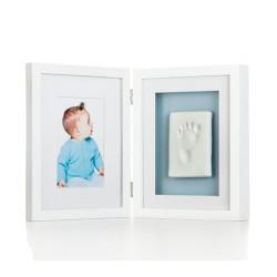 新寶寶掌印桌上相框(2格)白