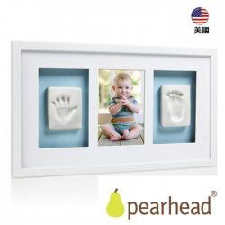新寶寶掌印掛牆相框(3格)白